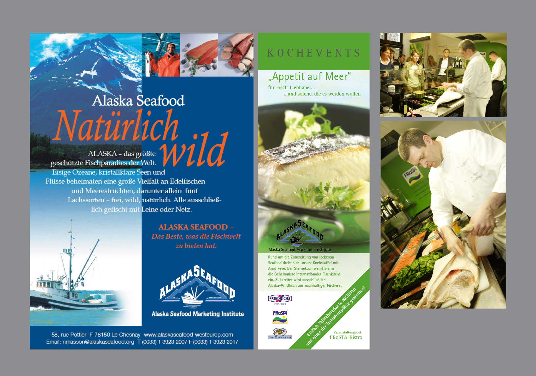 Alaska Seafood Marketing Institute - Marketing-Events und Anzeigen